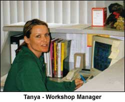 Tanya - Workshop Manager